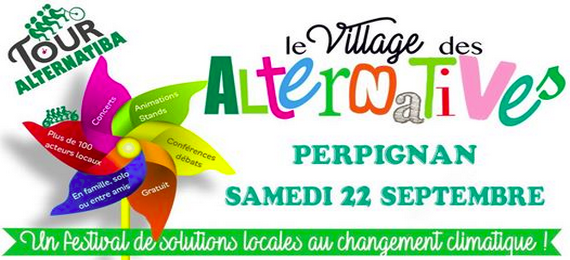 Tour Alternatiba : le village des alternatives